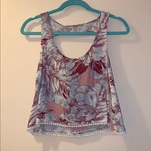 Mudd floral top